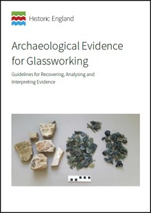 Front cover for Archaeological Evidence for Glassworking