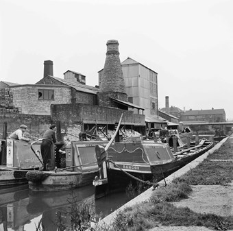 Barges on the Trent & Mersey Canal
